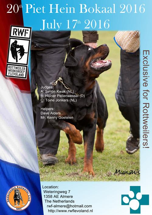Piet Hein Bokaal 2016